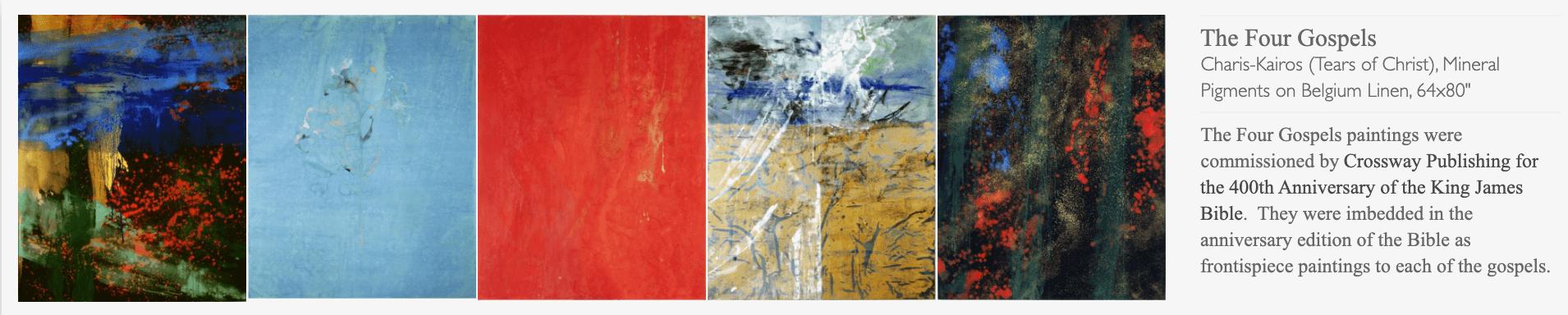 Works by Makoto Fujimura, The Four Gospels